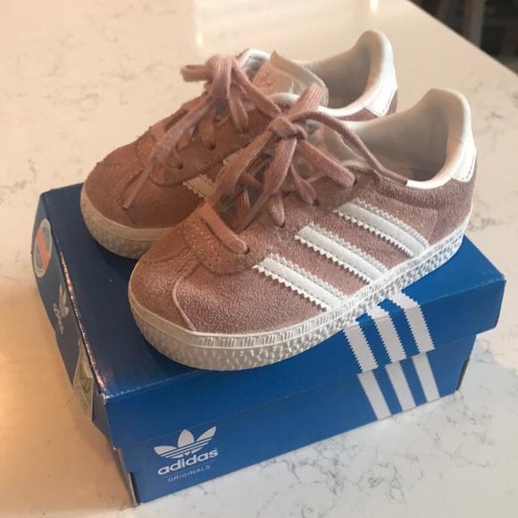 6030d06da62a6b adidas Other - Adidas toddler Superstar Foundation Pink size 5